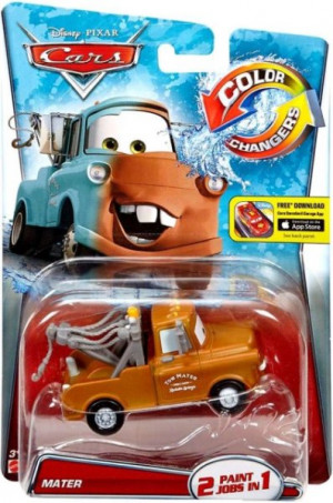 CARS 2 (Auta 2) - Color Changers Mater (Burák měnící barvu)