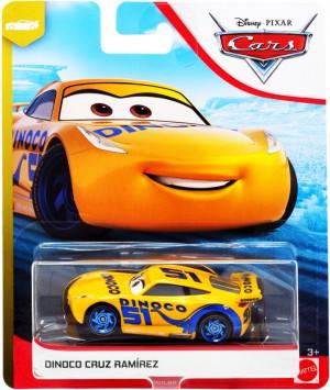 CARS 3 (Auta 3) - Dinoco Cruz Ramirez Nr. 51 (Cruz Ramirézová)