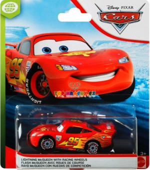 CARS 3 (Auta 3) - Lightning McQueen with Racing Wheels (Blesk)
