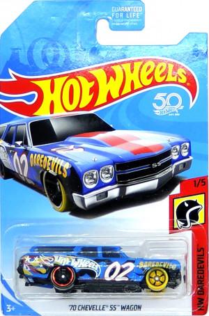 HOT WHEELS - '70 Chevelle SS Wagon Blue (B4)