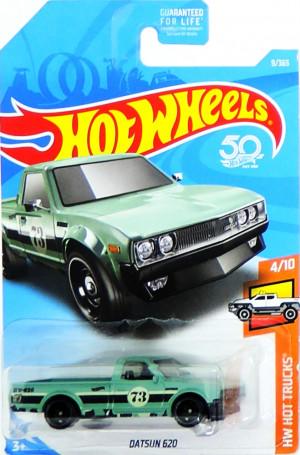 HOT WHEELS - Datsun 620 - poškozený obal