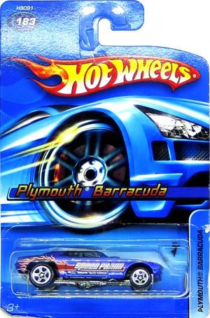HOT WHEELS - Plymouth Barracuda Blue (B4)