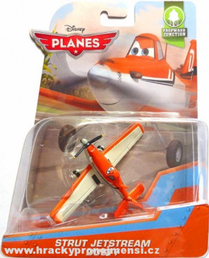 PLANES (Letadla) - Strut Jetstream Dusty (Prášek)