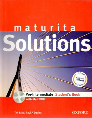 Maturita Solutions: Pre-intermediate Student's Book