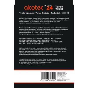 Alcotec Turbo Kvasnice 24 hodin -10x