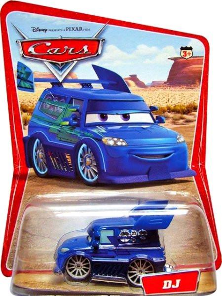 CARS (Auta) - DJ - SBĚRATELSKÝ - 1. SÉRIE - poškozený obal