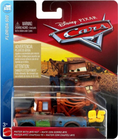 CARS 3 (Auta 3) - Mater with 95 Hat (Burák)