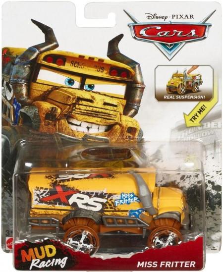 CARS 3 Deluxe (Auta 3) - Miss Fritter (paní Bučitelka) - XRS Mud Racing