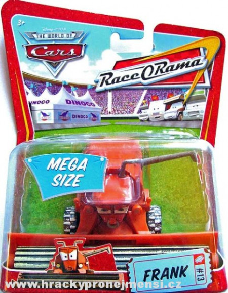 CARS (Auta) Deluxe - kombajn FRANK - Race O Rama