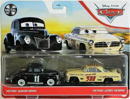 CARS 3 (Auta 3) - Heyday Junior Moon + Heyday Leroy Heming