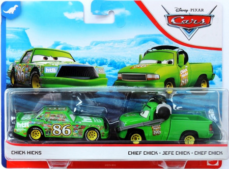 CARS 3 (Auta 3) - Chick Hicks + Chick Chief