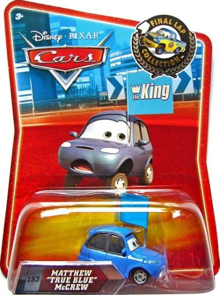 CARS (Auta) - Matthew True Blue McCrew - Final Lap