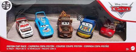 CARS 3 (Auta 3) - 5pack Piston Cup Race