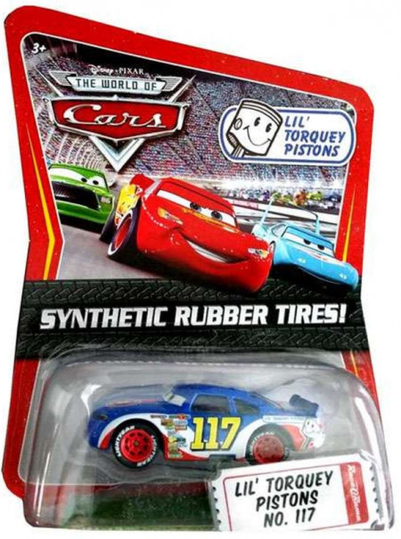 CARS (Auta) - Lil´ Torquey Pistons 117 Rubber Tires (gumová kolečka)