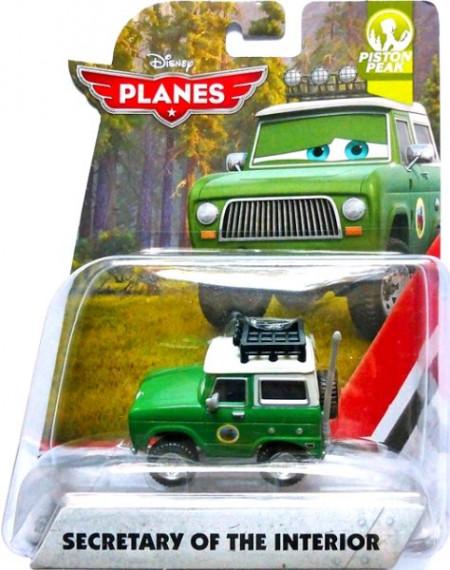 PLANES 2: Fire & Rescue - Secretary of the Interior (Letadla 2: Hasiči a záchranáři)