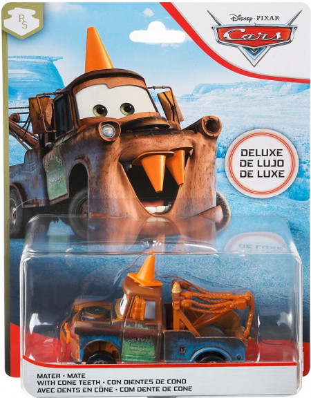 CARS 3 Deluxe (Auta 3) - Mater with Cone Teeth