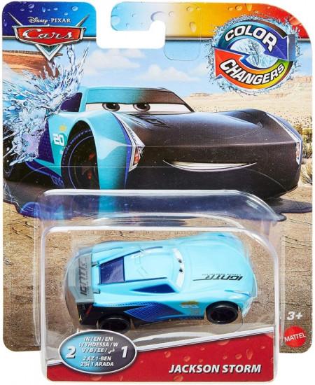 CARS 3 (Auta 3) - Color Changers Jackson Storm (Jackson Hrom měnící barvu)