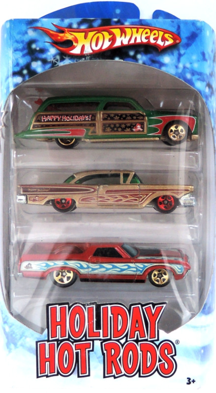 HOT WHEELS 2010 - 3pack HW Holiday Hot Rods - I