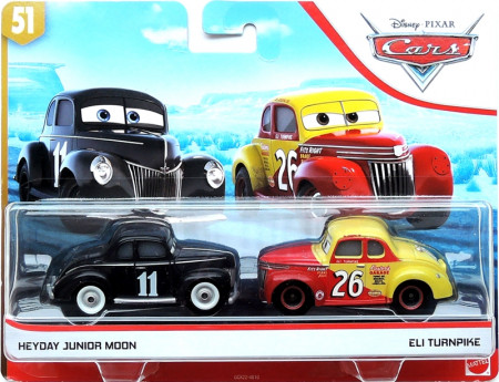 CARS 3 (Auta 3) - Heyday Junior Moon + Eli Turnpike