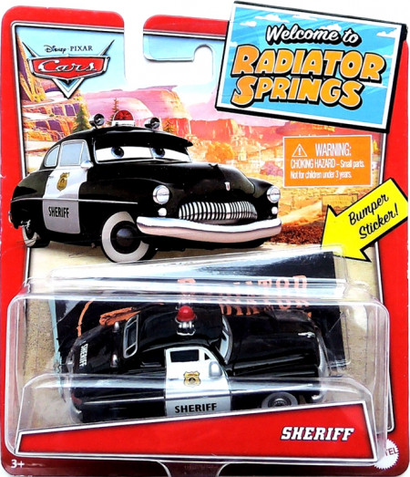 CARS (Auta) - Sheriff - Radiator Springs
