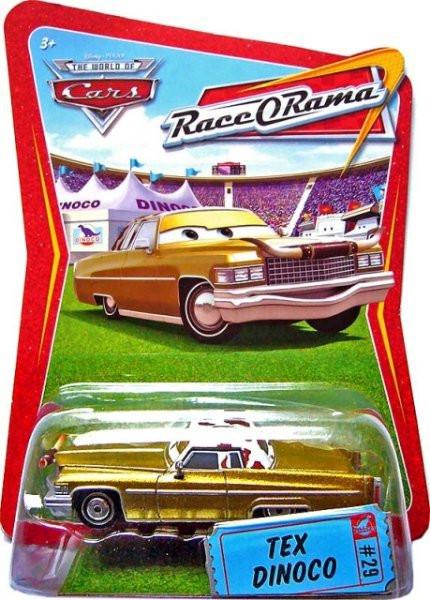 CARS (Auta) - Tex Dinoco - Race O Rama