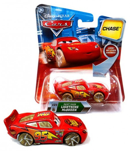 CARS (Auta) - Paint Mask McQueen CHASE - LOOK MY EYES CHANGE (mrkací)
