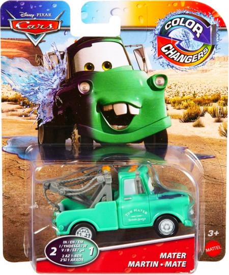 CARS (Auta) - Color Changers Mater (Burák měnící barvu)
