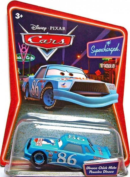 CARS (Auta) - Chick Hicks Dinoco (sběratelský) SUPERCHARGED