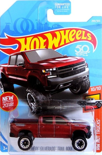 HOT WHEELS - 19 Chevy Silverado Trail Boss LT