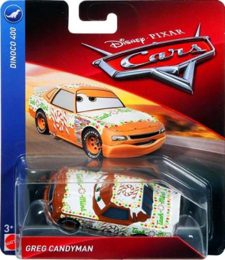 CARS 3 (Auta 3) - Greg Candyman No. 101 - poškozený obal