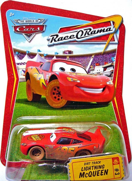 CARS (Auta) - Dirt Track McQueen (Blesk McQueen) Race O Rama