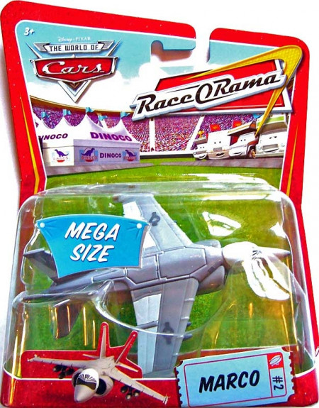 CARS Deluxe (Auta) - Marco - Race O Rama