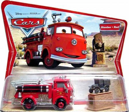 CARS (Auta) - Red + Stanley - SBĚRATELSKÉ - 1. SÉRIE - poškozený obal
