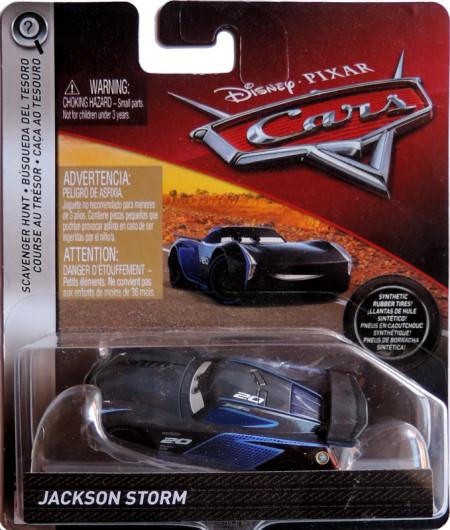 CARS (Auta) - Jackson Storm Rubber Tires (gumová kolečka)