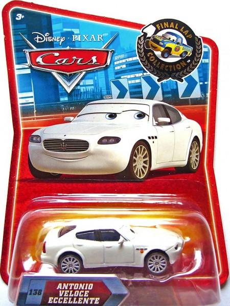 CARS (Auta) - Antonio Veloce Eccellente