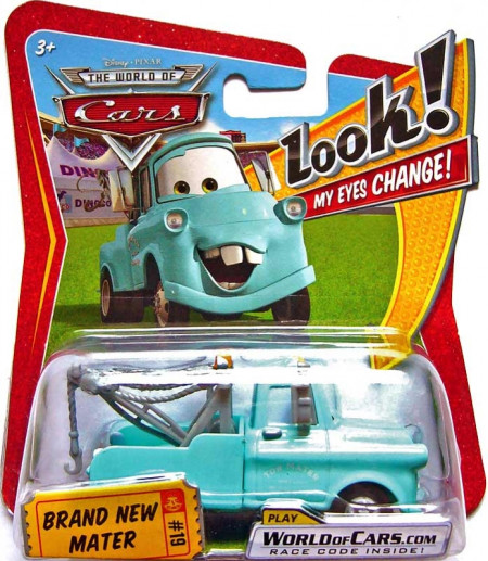 Kopie - CARS (Auta) - Brand New Mater (mladý Burák) LOOK MY EYES CHANGE (mrkací)