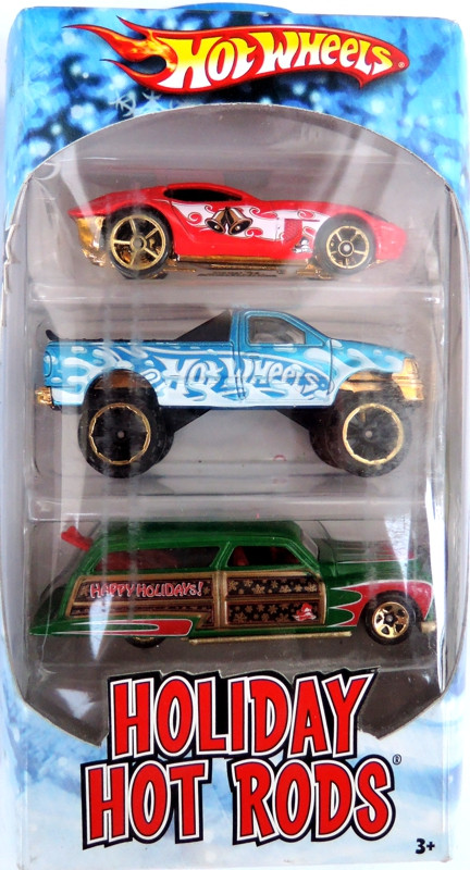 HOT WHEELS 2010 - 3pack HW Holiday Hot Rods - II