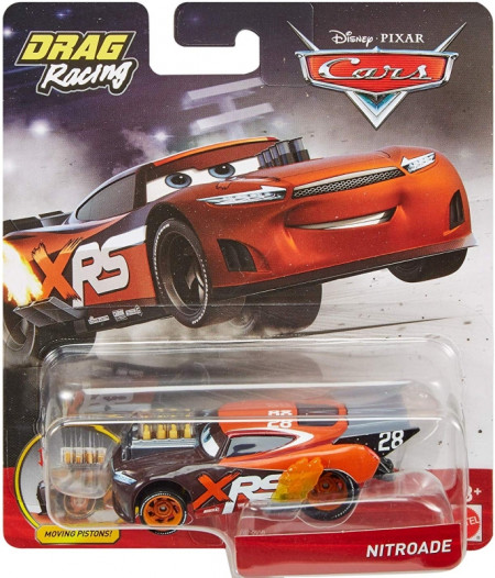 CARS 3 (Auta 3) - Nitroade Nr. 28 - XRS Drag Racing