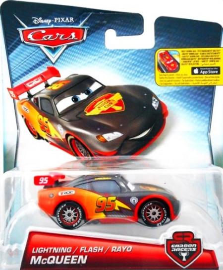 CARS 2 (Auta 2) - Lightning McQueen (Blesk McQueen) Carbon Racers
