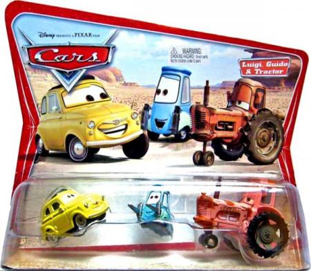 CARS (Auta) - Luigi + Guido + Tractor - SBĚRATELSKÉ - 1. SÉRIE