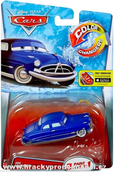 CARS (Auta) - Color Changers Doc Hudson