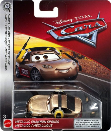 CARS 3 (Auta 3) - Metallic Shannon Spokes