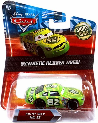 CARS (Auta) - Shiny Wax 82 Rubber Tires (gumová kolečka)
