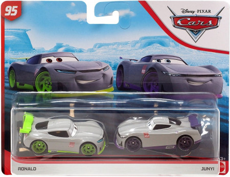 CARS 3 (Auta 3) - Ronald + Junyi