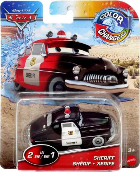 CARS (Auta) - Color Changers Sheriff