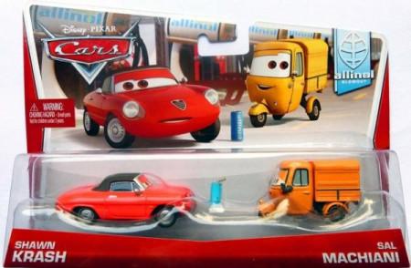 CARS 2 (Auta 2) - Shawn Krash + Sal Machiani