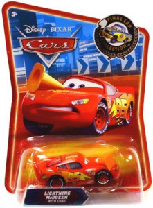 CARS (Auta) - Lightning McQueen with Cone (Blesk McQueen) - Final Lap