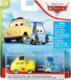 CARS 3 (Auta 3) - Race Team Luigi & Guido