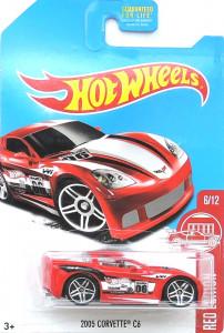 HOT WHEELS - 2005 Corvette C6