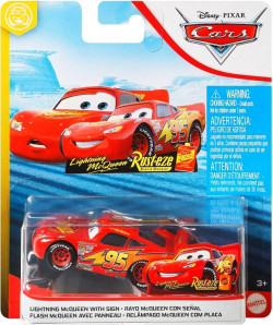 CARS 2 (Auta 2) - Lightning McQueen with Sign (Blesk McQueen s podpisem)